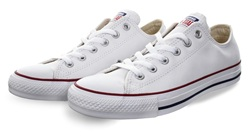 Converse White (Womens) Chuck Taylor All Star Leather