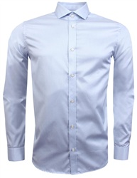 Jack & Jones Light Blue Slim Fit Stretch Shirt
