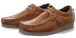 Base London Tan Storm Lace Up Shoe