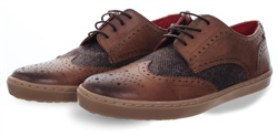Base London Tan Anglo Brogue