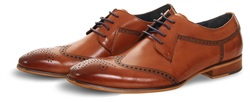 Paolo Vandini Brown / Tan Lace Up Shoe