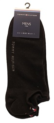 Hilfiger Denim Black 2 Pack Trainer Socks
