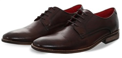 Base London Brown Sussex Lace Up Shoe