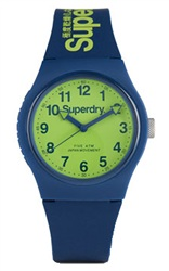 Superdry Navy/Lime Urban Watch