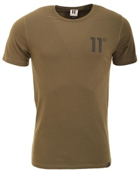 11degrees Khaki 11 D Tee