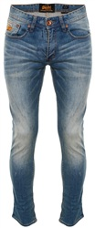 Superdry Hobo Blue Corporal Slim Jeans