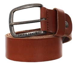Jack & Jones Tan Jj Paul Leather Belt