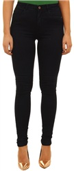 Only Navy+r Royal High Waist Skinny Jean