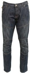 Crosshatch Dark Denim Newport Straight Jean
