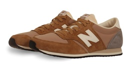 New Balance Taupe Trainer