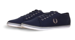 Fred Perry Navy Kingston Twill Trainer