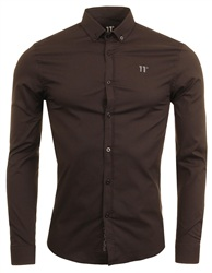 11degrees Black Long Sleeve Shirt
