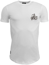 Bee Inspired White Signature Tee