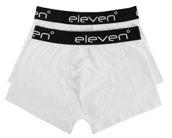 11degrees Black / White 2 Pack Boxers