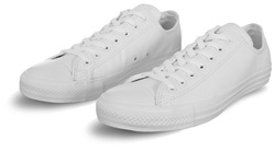 Converse White (Mens) Chuck Taylor All Star Mono Leather