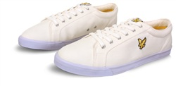 Lyle & Scott White & Blue Trainer