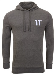 11degrees Charcoal Core Hoodie