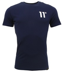 11degrees Navy Core T-Shirt