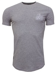 Bee Inspired Lgrey Signature Plain Tee
