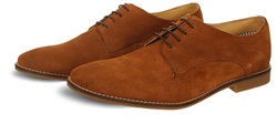 Ikon Brown Textured Stewart Shoe