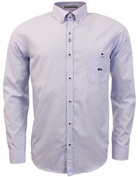 Dario Beltran Light Blue Saldo Long Sleeve Shirt