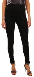 Noisy May Black High Waist Ella Skinny Jean