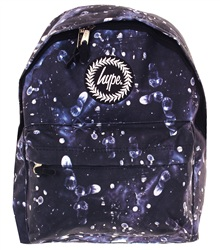 Hype Navy Finger Print Bag