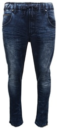 Crosshatch Stnwash Stetch Waist Jean