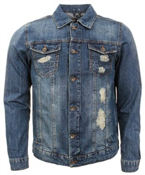 Bee Inspired Denim Brooke Jacket