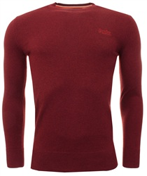 Superdry Red Crew Sweater
