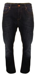 Superdry Rinse Pitch Black Staight Jeans