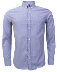 Ottomoda Blue Oxford Shirt