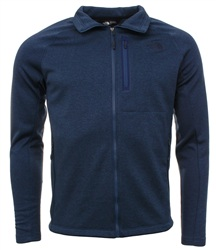 The North Face Blue Zip Up Fleece