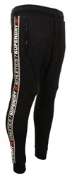Superdry Black Stadium Athletics Joggers