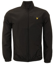 Lyle & Scott Black Zip Up Jacket