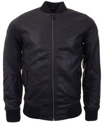 Threadbare Black Bomber Jacket