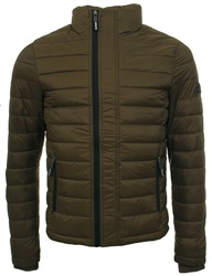 Superdry Olive Sd-X Fuji Triple Zip Through Jacket