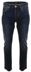 Superdry Grey Blue Aged Straight Jeans