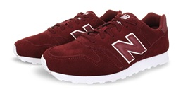 New Balance Burgundy 373 Trainer