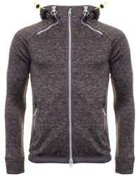 Superdry Grey Marl Storm Double Zip Hoodie