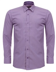 Ottomoda Lilac Check Shirt