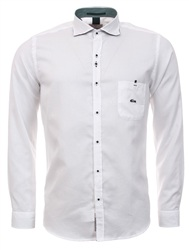 Dario Beltran White Long Sleeve Shirt