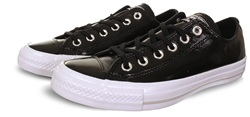 Converse Black Chuck Taylor Crinkled Patent Leather