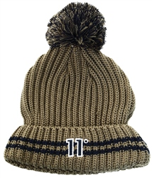 11degrees Khaki Beanie