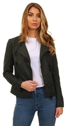 Only Green Ava Biker Jacket
