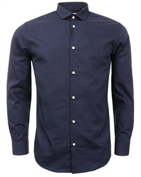 Jack & Jones Navy Jose Slim Shirt