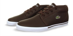 Lacoste Brown Amphill Trainer