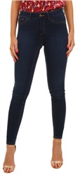 Pieces Darkwash Denim Shape Up Skinny Jean