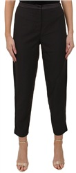 Fashion Union Black Satin Trim Trouser
