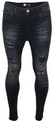 Bee Inspired Dark Blue Denim Luca Skinny Jeans